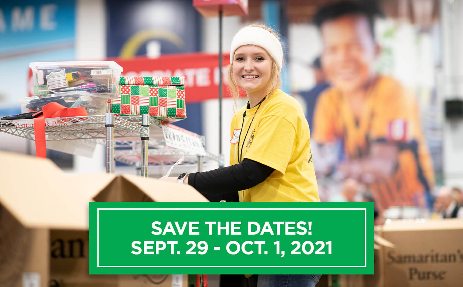 Save the Dates! Sept. 29-Oct. 1, 2021