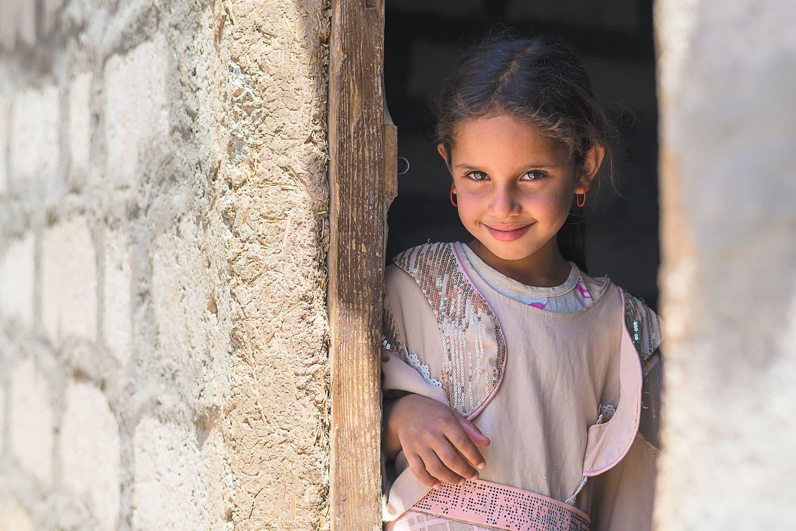 an Iraqi girl