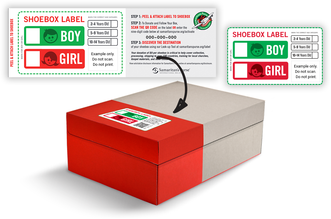 follow your box adhesive labels